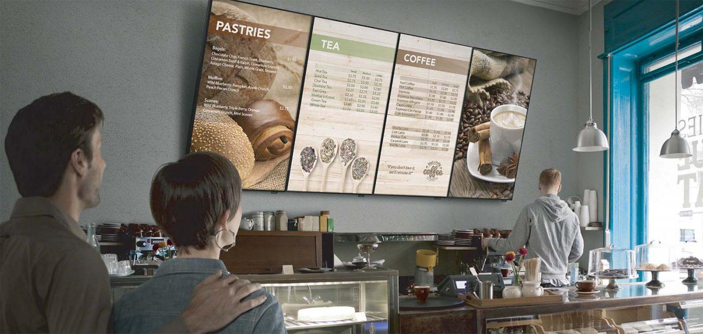 digital signage trong doanh nghiệp bán lẻ