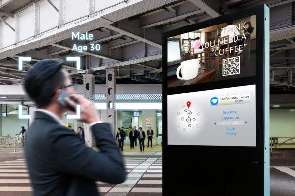 digital signage và ai