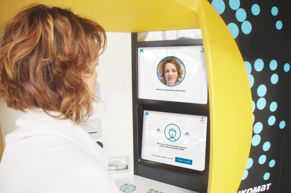 ngân hàng sử dụng giải pháp nhận diện khuôn mặt