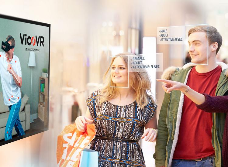 ứng dụng nhận diện khuôn mặt trong digital signage