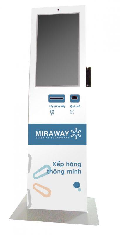 máy xếp hàng lấy số tự động miraway