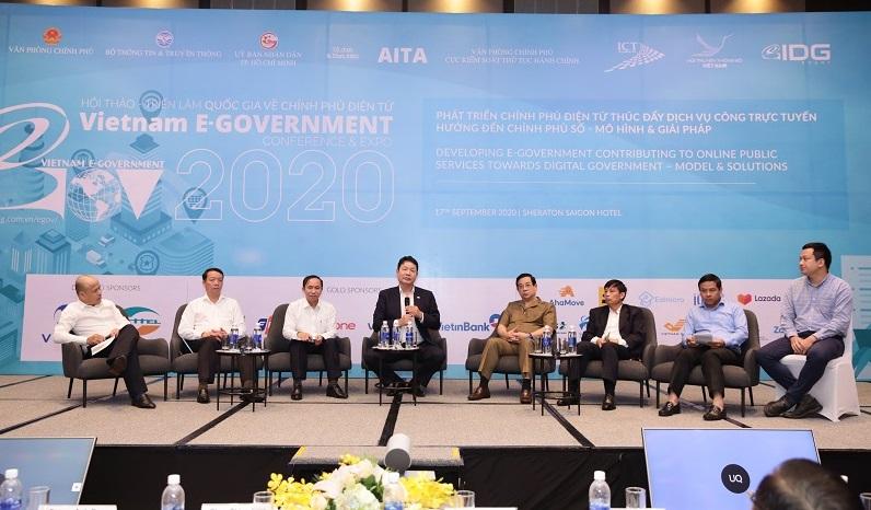 hội thảo chính phủ điển tử 2020