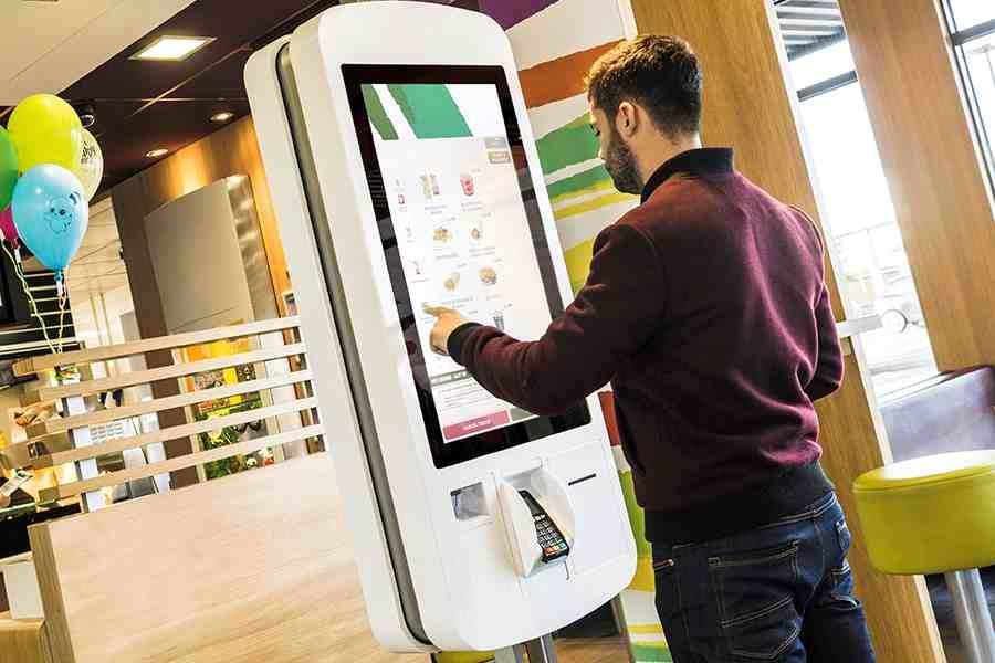 kiosk tự phục vụ